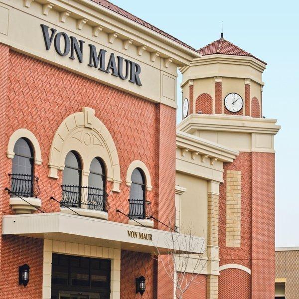 Von Maur is one of Corbin Park's anchor tenants.