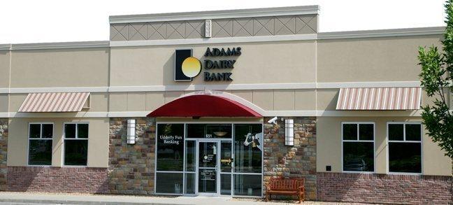 Adams Dairy Bank in Blue Springs.