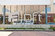The Aloft Hotel, at 11620 Ash St. in Leawood, stays busy during weekdays from business travel. Room for a second Park Place hotel is near the Aloft.