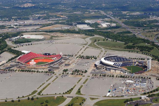 Hy-Vee now sponsors both the Kansas City Chiefs at Arrowhead Stadium and the Kansas City Royals at Kauffman Stadium.