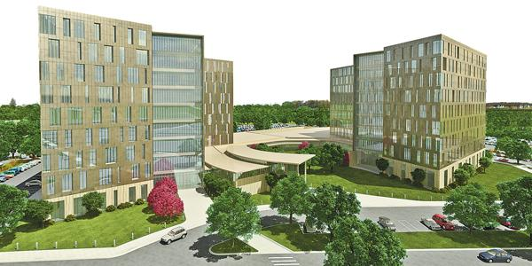 Cerner is planning a new Kansas City headquarters.