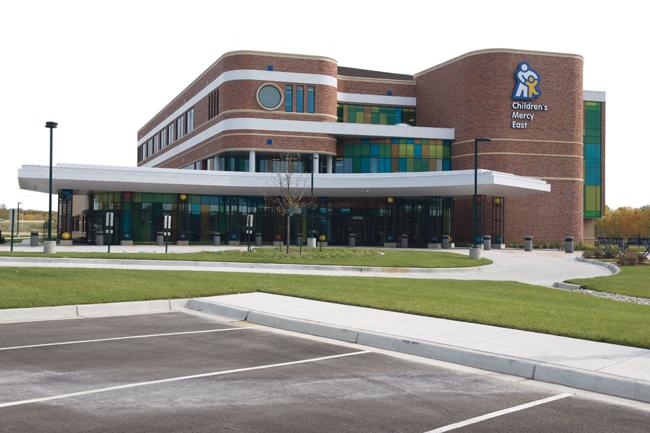 Children's Mercy East is a 55,000-square-foot facility at Interstate 70 and Little Blue Parkway.