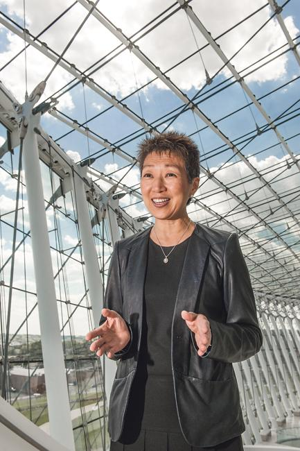 Jane Chu is CEO of the Kauffman Center for the Performing Arts.