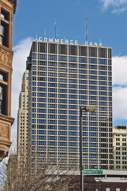 Commerce Tower, 911 Main St., fetches $12.6 million in its recent foreclosure sale.