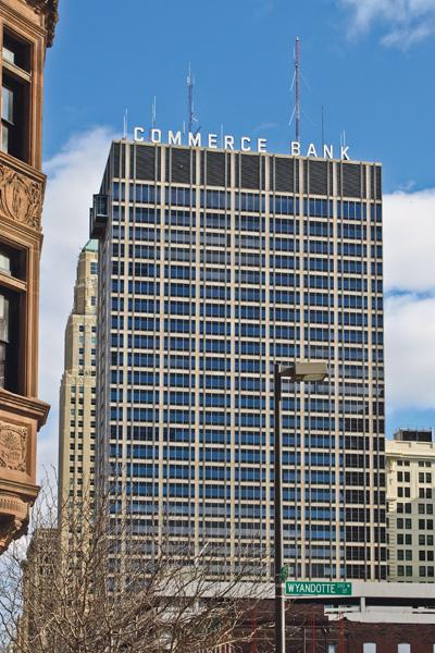 Commerce Tower is at 911 Main St. in Kansas City.