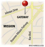 Mission Gateway is planned for a site near Johnson Drive and Shawnee Mission Parkway.