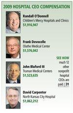 Nonprofit hospitals don't scrimp on CEOs' pay