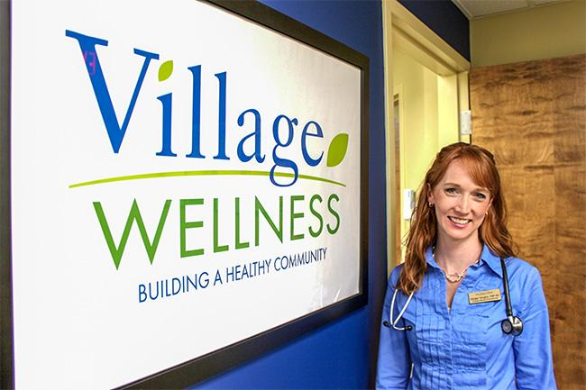 Ginger Vaughn, a family nurse practitioner, runs a wellness clinic at John Knox Village.