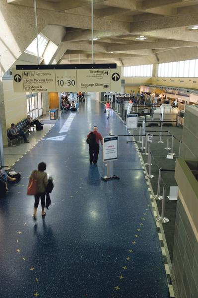 The number of passengers at Kansas City International Airport (Code: MCI) continues to dwindle.