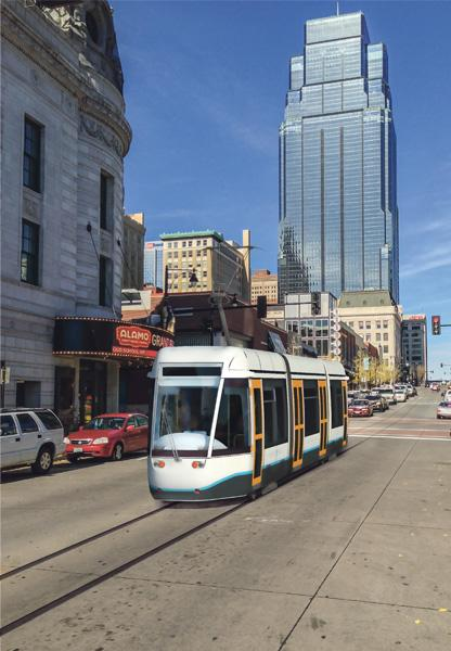 Two property owners in downtown Kansas City filed a lawsuit on Thursday claiming that the city's plan for funding a $100 million streetcar project is unconstitutional.