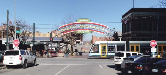 The proposed streetcar plan would run from Kansas City's River Market to Crown Center.