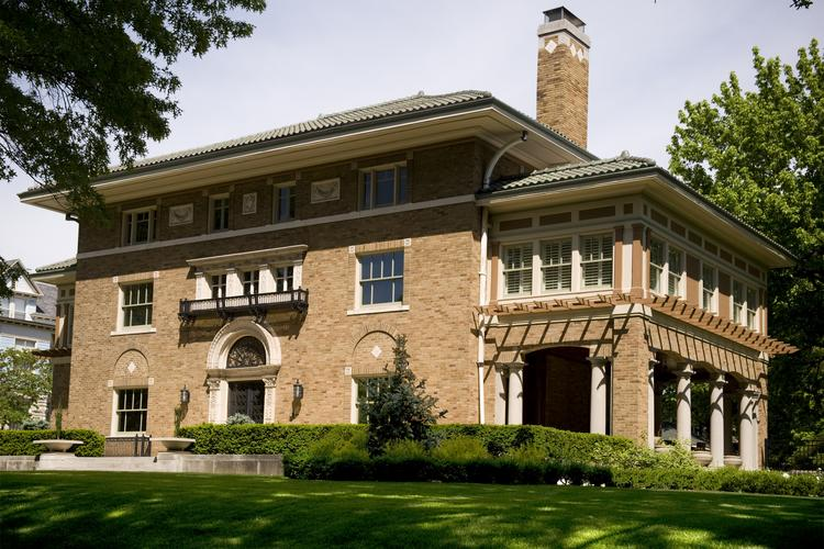 Chuck Mader was fired as president of Kansas City Terminal Railway Co. after allegedly using company money for personal projects, including renovating this Hyde Park mansion at 53 Janssen Place.