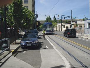 Downtown Kansas City voters head toward round two of votes about streetcar financing.