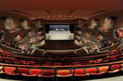 The Muriel Kauffman Theatre at the Kauffman Center for the Performing Arts can seat 1,800 people.