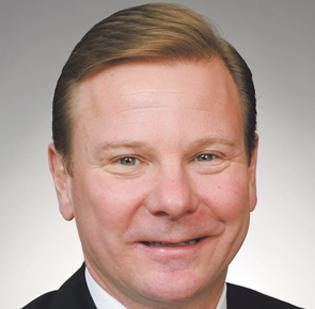 Brad Leech, vice president of resource development, Children's Mercy Hospitals and Clinics