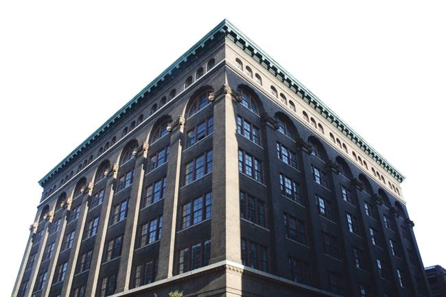 The Lucas Place Lofts will offer 130 market-rate apartments in the eight-story building.
