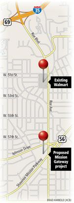 It all comes back to Walmart at Mission Gateway