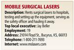 Mobile Surgical Lasers sells to Universal Hospital Services