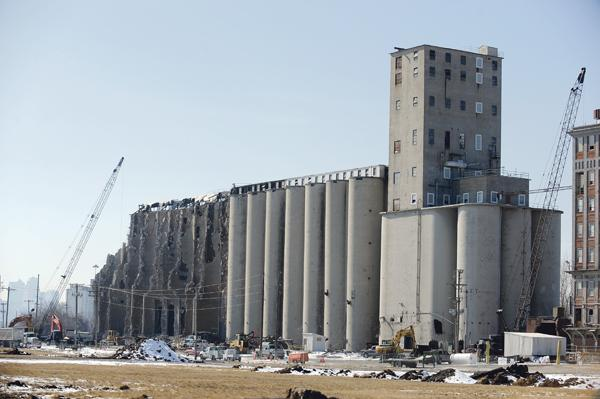 North Kansas City plans a 58-acre redevelopment at this site, home to the former ADM flour mill.