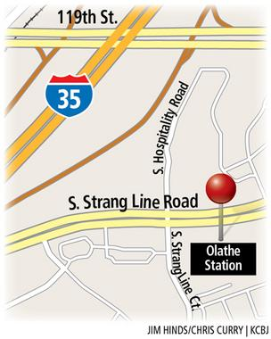 Olathe Station map