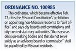 Economic Development Corp. of Kansas City addresses commissioners' residency