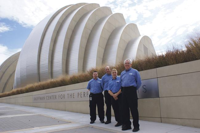 P1 Group Inc. has dramatically reduced the electric bill at the Kauffman Center for the Performing Arts through a combination of high-tech systems and creative engineering.