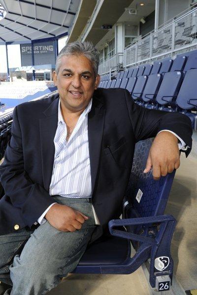 Asim Pasha is managing partner at Sporting Innovations LP and CIO of Sporting Kansas City parent Sporting Club.