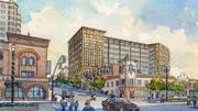 A proposed office for Polsinelli Shughart PC is portrayed both as killing the feel of the Country Club Plaza and as adding new customers and new life to the area.