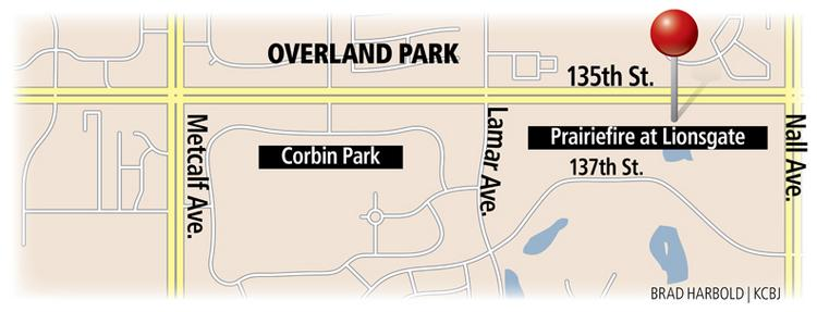 Overland Park has approved incentives valued at nearly $90 million for the Prairiefire at Lionsgate mixed-use project.