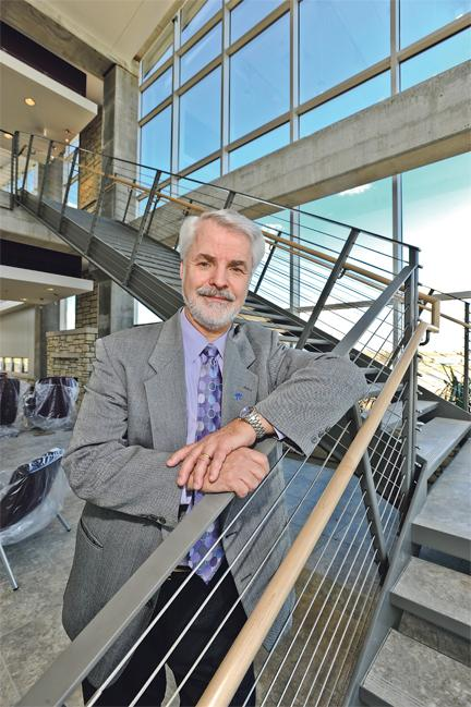 Dan Richardson is CEO of the K-State Olathe Innovation Campus.