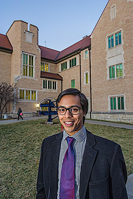 Riddhiman Das must remain a student at UMKC to stay in the country and run his tech venture.