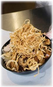 """The Rub Bar-B-Que & Catering in Olathe offers a """"hash bowl,"""" a nontraditional barbecue dish."""