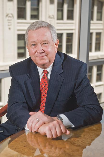 Michael Saunders, chairman of Spencer Fane Britt & Browne LLP, says the law firm is walking, not rushing, into the Denver market.