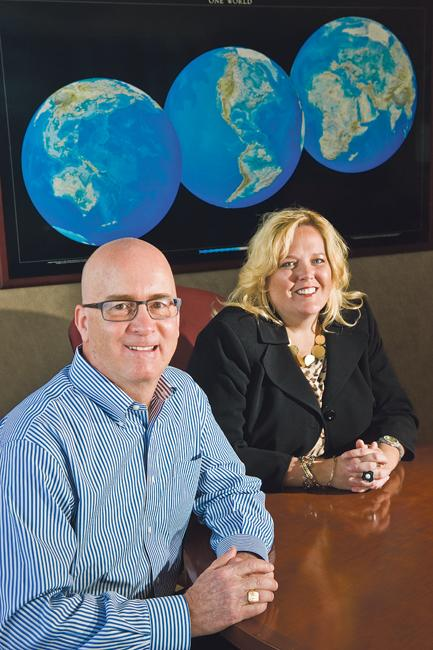 Terracon Consultants Inc. CEO David Gaboury and M. Gayle Packer, chief administrative officer, help the engineering firm thoughtfully target and then absorb acquisitions that give Terracon a foothold in regions outside Kansas City.