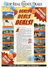 Editor page: What uncertainty? Top Real Estate Deals section shows undaunted capitalism
