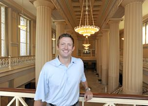 Jason Townsend is giving up efforts to revive the old Federal Reserve Bank of Kansas City.