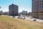This view of 46th Terrace on the County Club Plaza shows the so-called Valencia II site, where Polsinelli Shughart PC could build an office building. At right is Valencia Place, home to Lockton Cos.' headquarters.