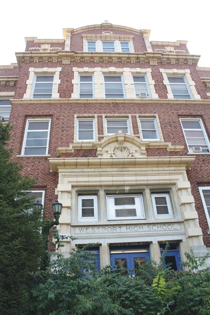 The former Westport High School is at 315 E. 39th St.