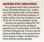 Software group scrambles to survive demise of Kansas Technology Enterprise Corp.
