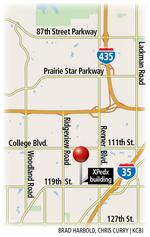 D.H. Pace may move to Olathe, fill Xpedx's distribution center