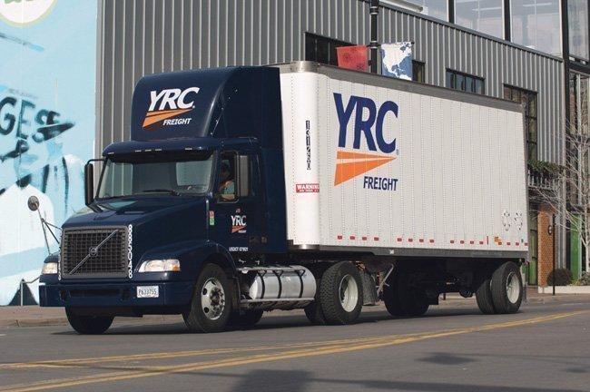 YRC Freight truck