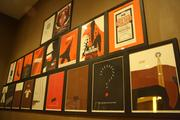Visitors to the theater can purchase copies of art from the Mondo Art Wall, which is created by a Lawrence artist.