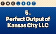No. 5 Perfect Output of Kansas City LLC  Local Employees: 54 Location: Overland Park, Kan. For more information, check out the 2013 Top office equipment companies  available to KCBJ subscribers.