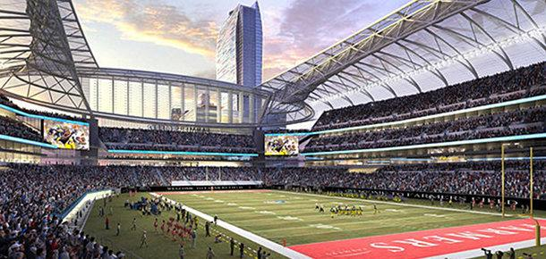 Rendering of Farmers Field
