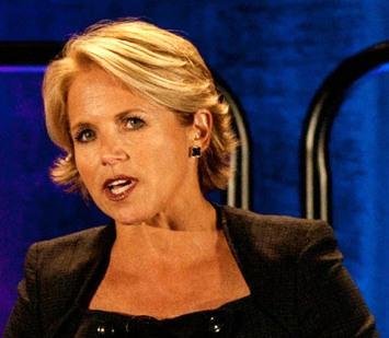 Yahoo is starting a weekly video show featuring TV news person Katie Couric next Tuesday.