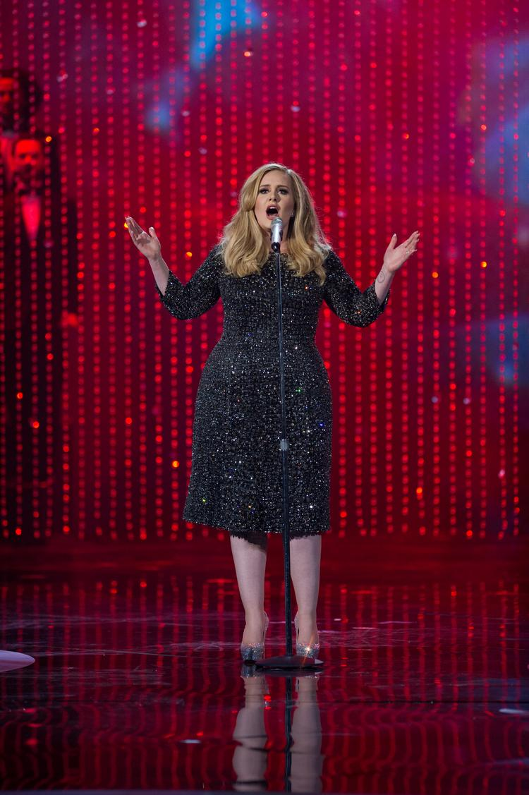 "Adele's performance of ""Skyfall"" garnered 82,300 tweets per minute and was the second most tweeted moment of the evening."