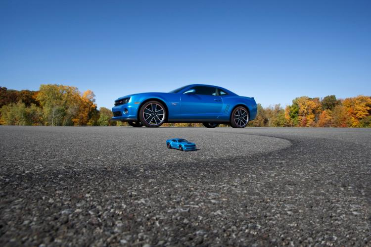 Chevrolet's Camaro Hot Wheels special edition goes on sale in early 2013.