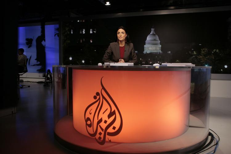 Ghida Fakhry, news anchor for Al Jazeera, goes on-air on the first day of Al Jazeera English in November 2006. The Al Jazeera English brand will be going away in favor of Al Jazeera America, which was Current TV. The end question remains: Given the struggles of Al Jazeera English, will Americans watch an Al Jazeera-branded news offering?