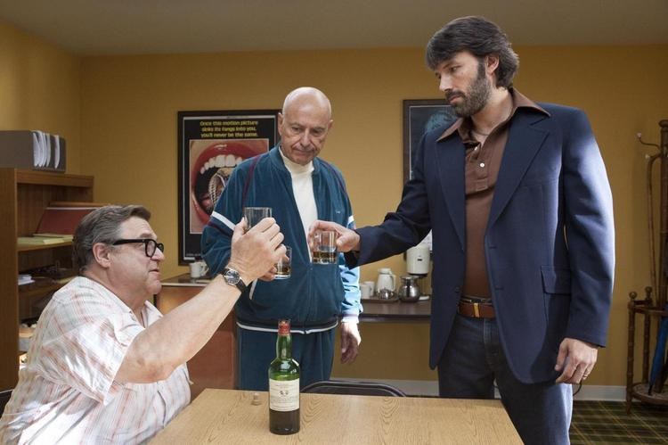 """""""Argo,"""" produced by Ben Affleck, George Clooney and Grant Heslov, won the Darryl F. Zanuck Award for Outstanding Producer of Theatrical Motion Pictures at the Producers Guild Awards over the weekend."""