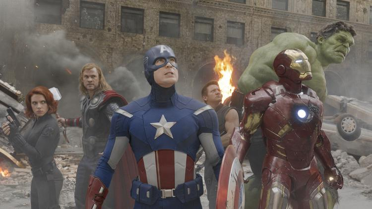 """""""Marvel's The Avengers"""" topped the home-video sales charts last week. Seventy-two percent of discs sold of the superhero actioner were on Blu-ray."""